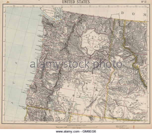 Image pacific northwest clipart map picture free Pacific Northwest Map Stock Photos & Pacific Northwest Map Stock ... picture free