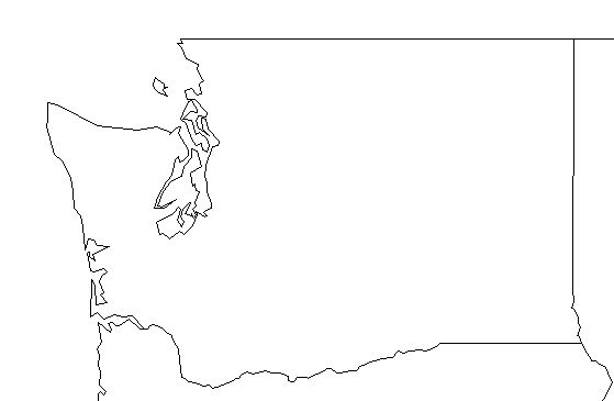 Image pacific northwest clipart map jpg freeuse stock Image pacific northwest map clipart bw - ClipartFest jpg freeuse stock