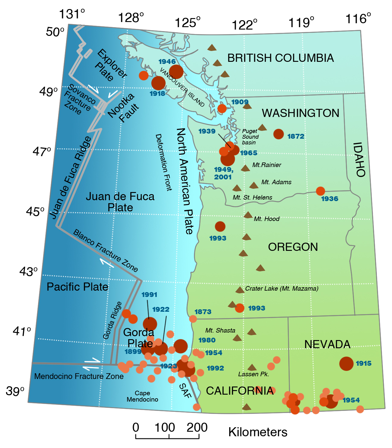 Image pacific northwest clipart map clipart free library Outline Map Of Pacific Northwest With Image Clipart ~ Free ... clipart free library