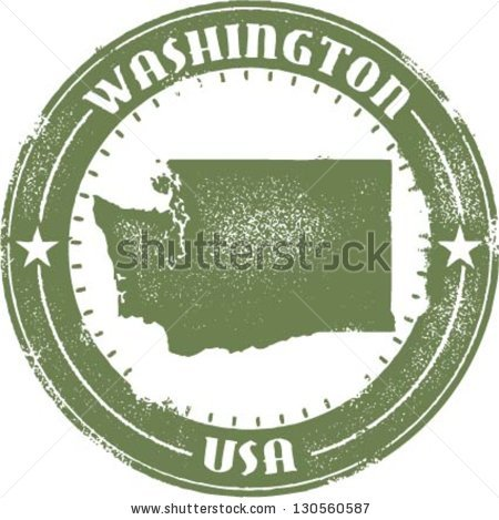 Image pacific northwest map clipart image library download Pacific Northwest Map Stock Photos, Royalty-Free Images & Vectors ... image library download