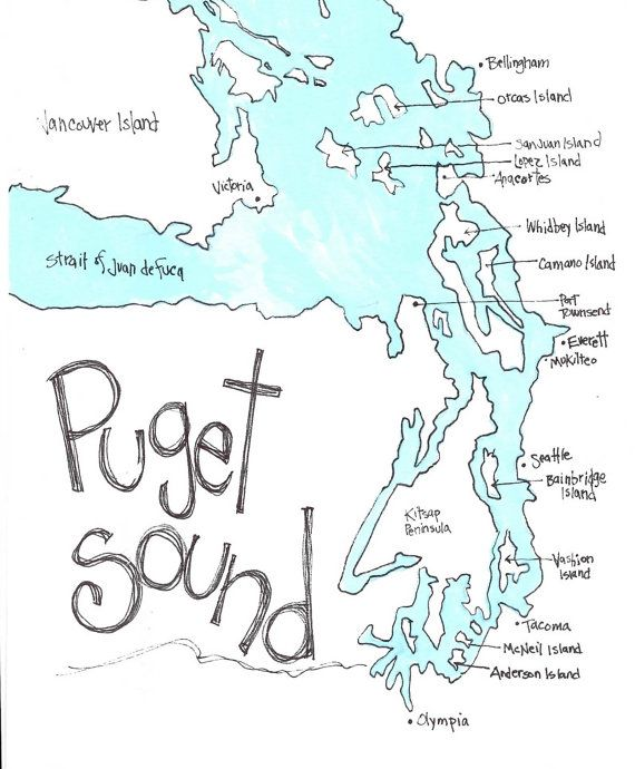 Image pacific northwest map clipart svg library stock 17 Best images about My Home, Whidbey Island on Pinterest | The ... svg library stock