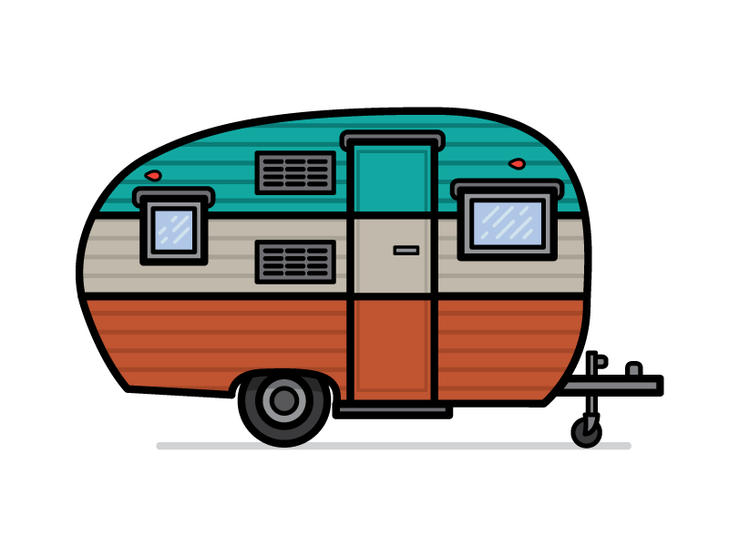 Image rv off we go clipart image black and white Camper Preview #2 | Machinery | Camper clipart, Camper ... image black and white