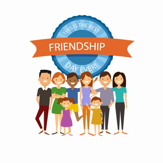Imagedoc darknoise clipart picture royalty free HD Friendship Vector Free Transparent Image - Novos Membros ... picture royalty free