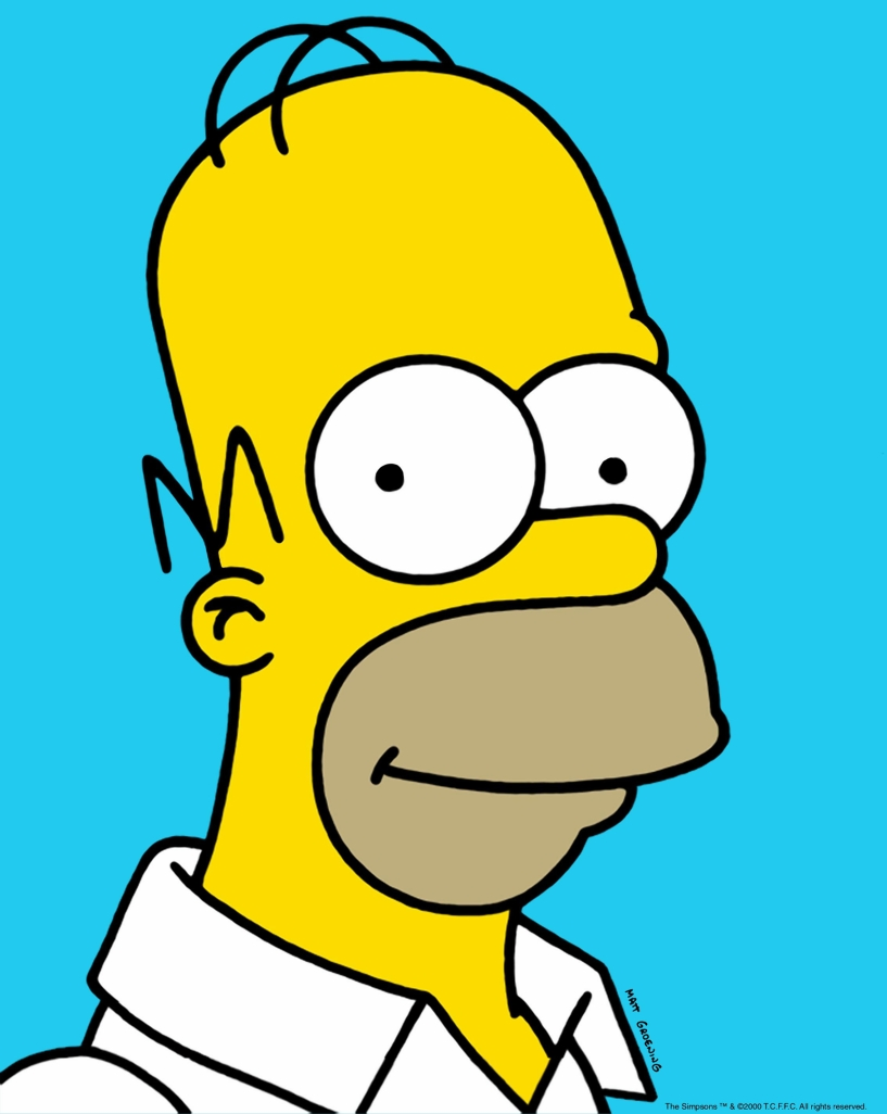 Imagenes de homero simpson clipart black and white stock Free Homer Cliparts, Download Free Clip Art, Free Clip Art ... black and white stock
