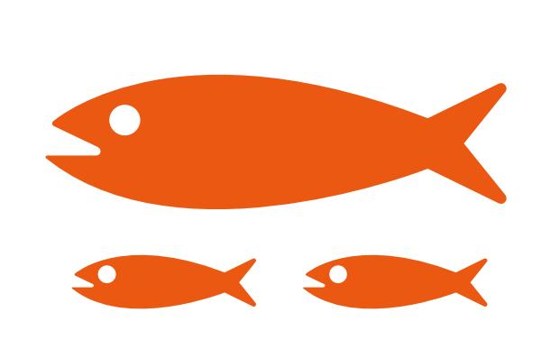 Imagenes de peces clipart svg black and white stock Peces Clip Art at Clker.com - vector clip art online ... svg black and white stock