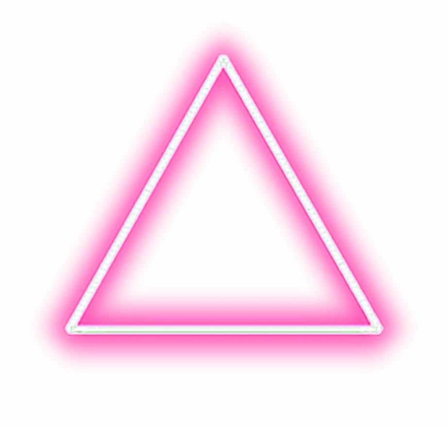 Imagenes neon clipart vector transparent download Iok Tumblr Ayigomez Editing - Neon Triangle Free PNG Images ... vector transparent download