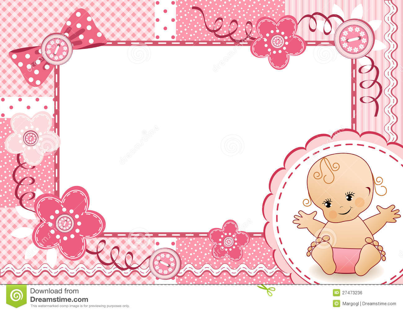 Imagenes para baby shower ni+-a clipart clipart black and white 26 Luxury Baby Shower Frame - baby shower clipart black and white