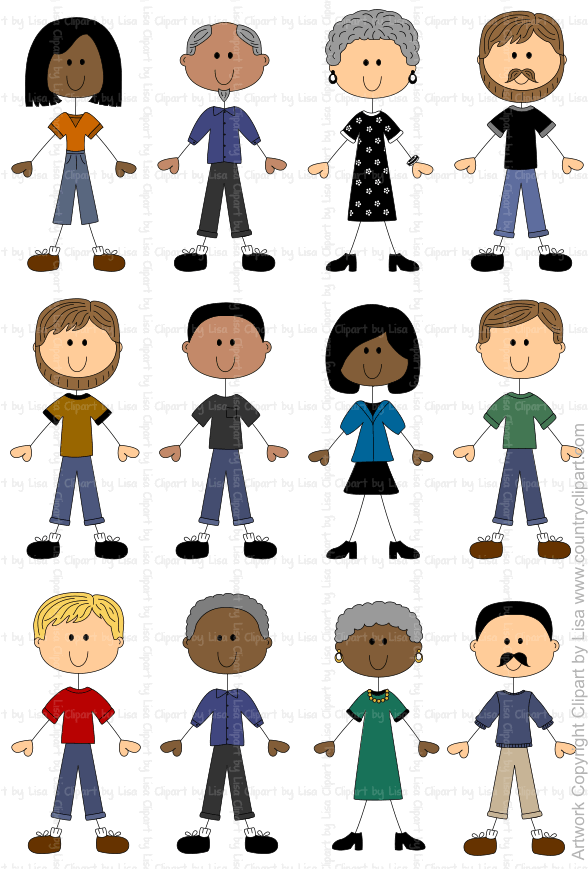 Imagenes personas clipart banner transparent stick figure people graphics and clipart samples 8 | manualidades ... banner transparent