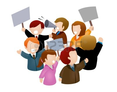 Imagenes personas clipart png freeuse library Las personas en Rally | Clipart Panda - Free Clipart Images png freeuse library