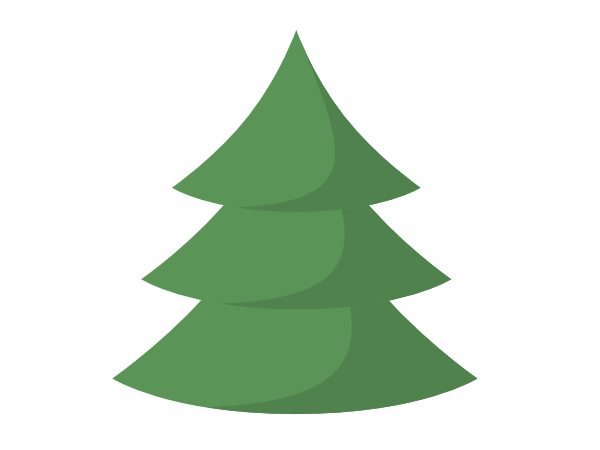 Images assembling a christmas tree clipart picture transparent stock How to Draw a Christmas Tree in Inkscape | GoInkscape! picture transparent stock