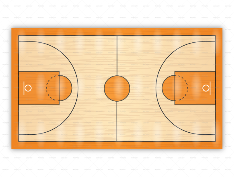 Images basketball court clipart vector black and white basketball court clipart - OurClipart vector black and white