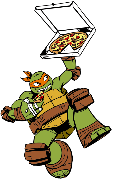 Eating fish clipart clip free stock Ninja Turtle Clipart Free at GetDrawings.com | Free for personal use ... clip free stock