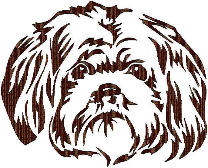Images clipart black and white lhasa apso dog image free stock Black Line Background clipart - Puppy, Dog, Black, transparent clip art image free stock