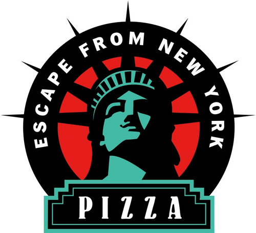 Images from escape from new york clipart jpg black and white library Escape From NY Pizza (@efnypizza)   Twitter jpg black and white library