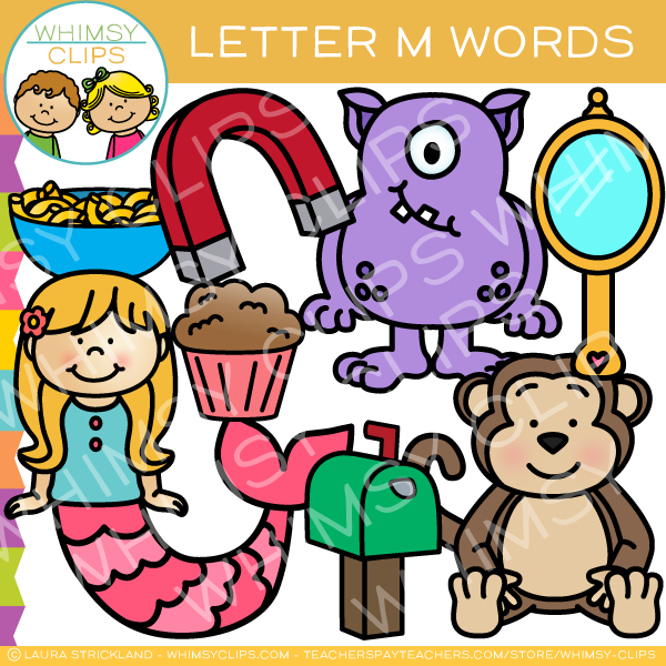 Images of alphabet clipart graphic free library Letter M Alphabet Clip Art graphic free library