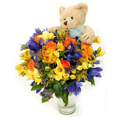 Images of floral bouquets picture free download Florist Sydney Floral Bouquet with Soft Toy Australia picture free download