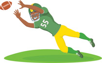 Images of football player catching ball clipart jpg download Search Results for catch - Clip Art - Pictures - Graphics ... jpg download