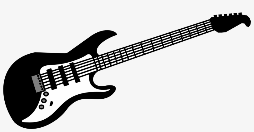 Images of guitars clipart clip art black and white download Clipart Guitar Bass Guitar - Guitar Clipart Transparent PNG ... clip art black and white download
