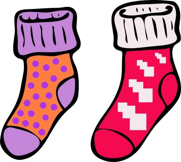 Socks clipart picture free download Silly Socks Clipart | Work In Progress | Silly socks, Socks, Clip art free download
