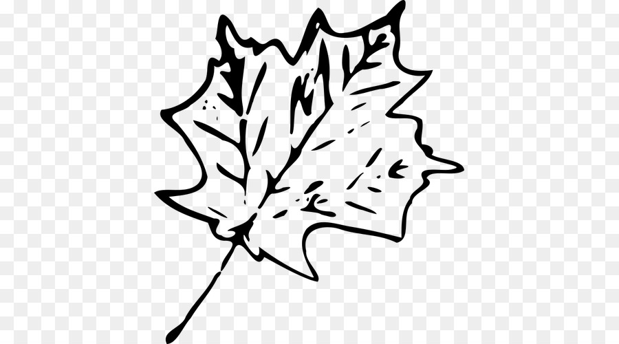 Images transparent black and white clipart leaves svg freeuse library Black And White Flower clipart - Leaf, Autumn, Maple, transparent ... svg freeuse library