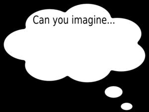 Imagine clipart jpg library download Can You Imagine Clip Art at Clker.com - vector clip art online ... jpg library download