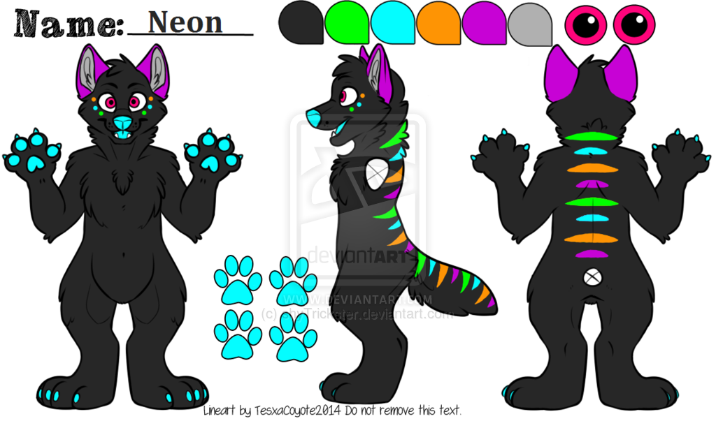 Img https i imgur com k2sl0hg clipart img picture library download Fursuit reference sheet lineart tesxacoyote - 15 linearts for free ... picture library download