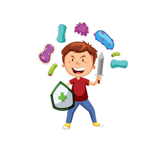 Immune cells clipart download Resilient Immunity System in Kids: A must | Activkids Immuno Boosters download