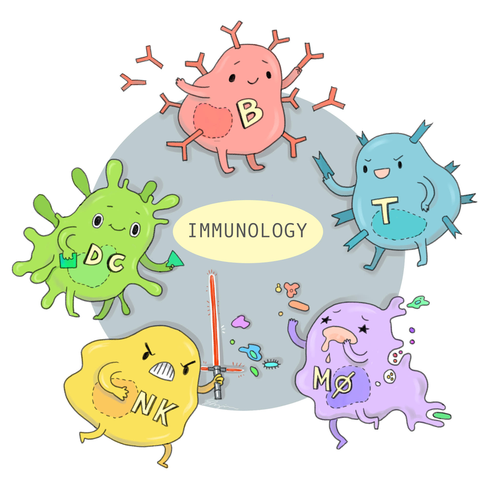 Immune cells clipart graphic library download Immune System Clip Art (104+ images in Collection) Page 3 graphic library download