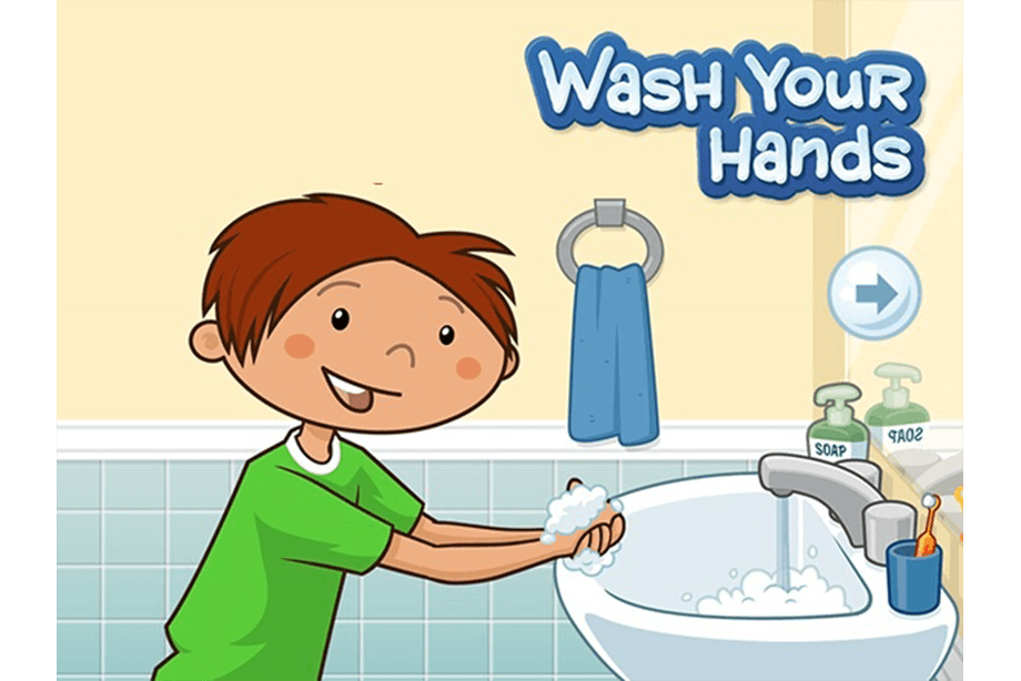 Importance of washing hands and hygiene kids clipart png black and white stock Smart Ways To Ensure Hygiene For School-Going Children png black and white stock