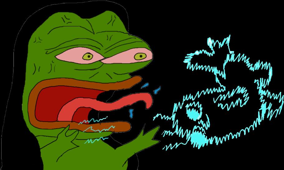 I-mwithhervector clipart clipart transparent download Raging Emperor Pepe - Cartoon Clipart - Full Size Clipart ... clipart transparent download