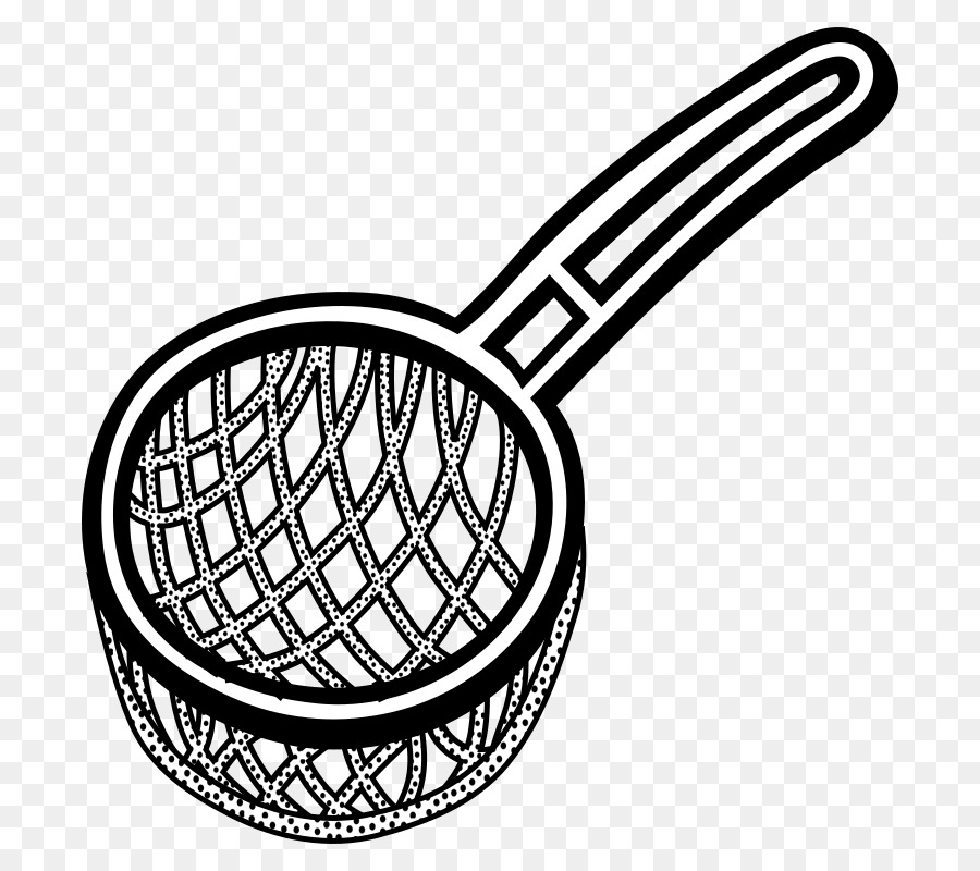 In a sieve clipart black and white stock Kitchen Cartoon clipart - Kitchen, Product, Line, transparent clip art black and white stock