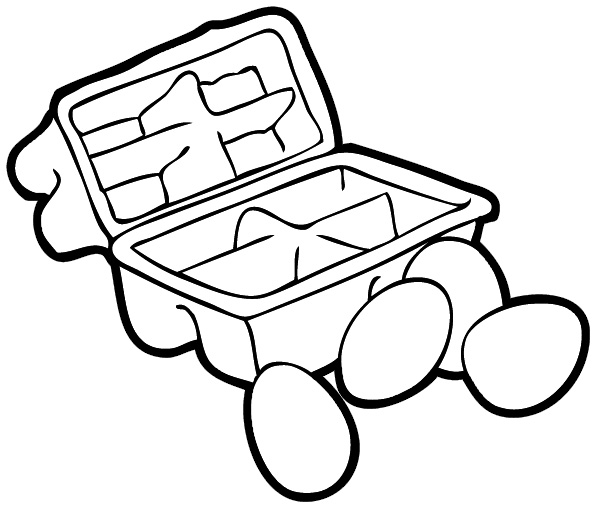 In and out a box clipart black and white png black and white stock Outside The Box Clipart Black And White png black and white stock