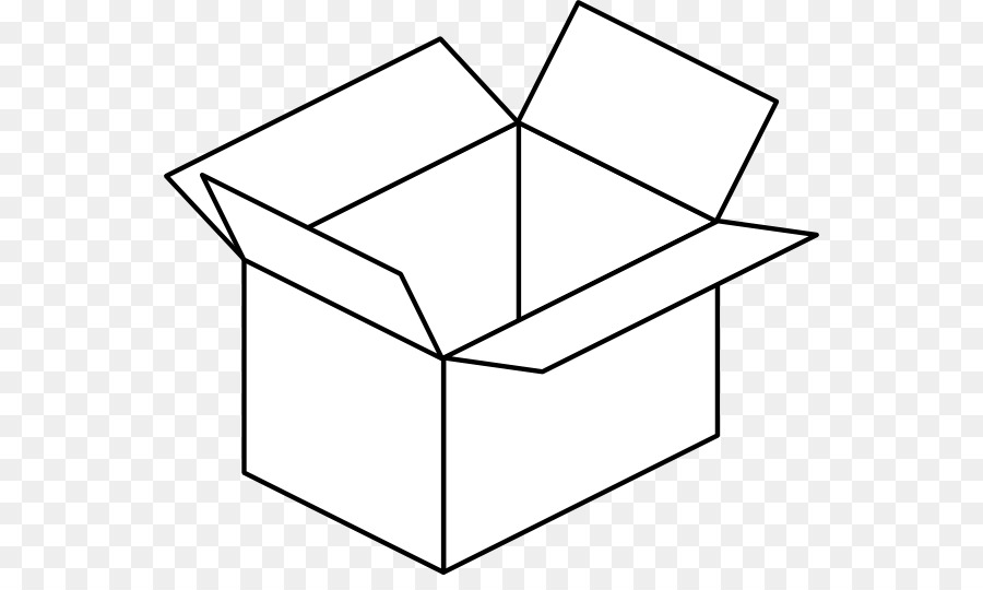 In and out a box clipart black and white image royalty free stock Box Black Clip Art Open Cliparts Png Download 600 526 Free Special ... image royalty free stock