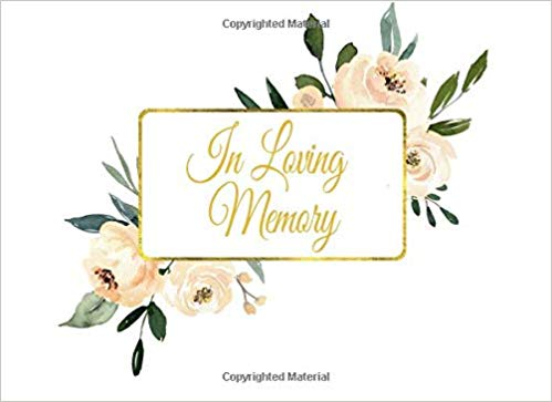 In memoriam clipart free graphic transparent library In Loving Memory: Guest Book for Funeral and Memorial Services in ... graphic transparent library