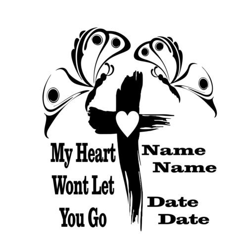 In memory of clipart picture freeuse Details about In Loving Memory Of Mom Cross Rose Custom Memorial ... picture freeuse