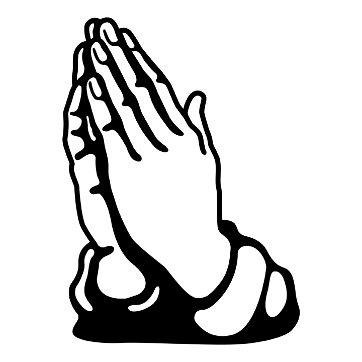 Thanks for the prayers black and white clipart picture library Free Praying Hands Images, Download Free Clip Art, Free Clip Art on ... picture library