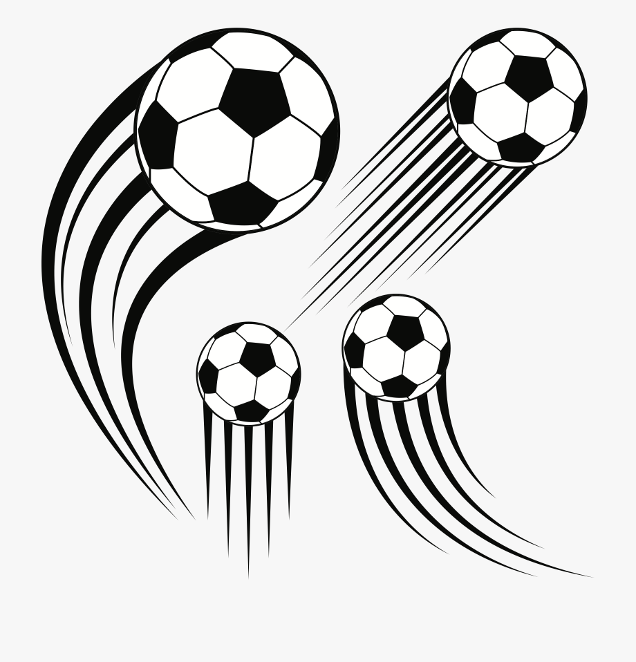 In motion clipart clip free download Balls Clipart Soccer Ball - Soccer Ball In Motion Png #714447 - Free ... clip free download