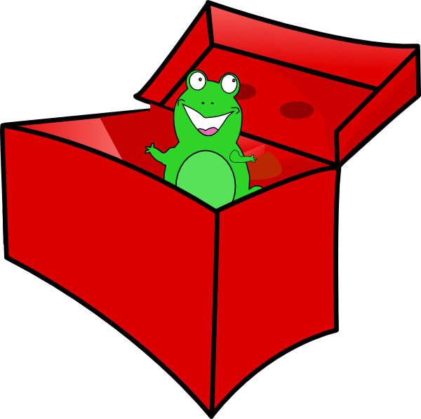 In the box clipart clip library Frog In The Box Clip Art at Clker.com - vector clip art online ... clip library
