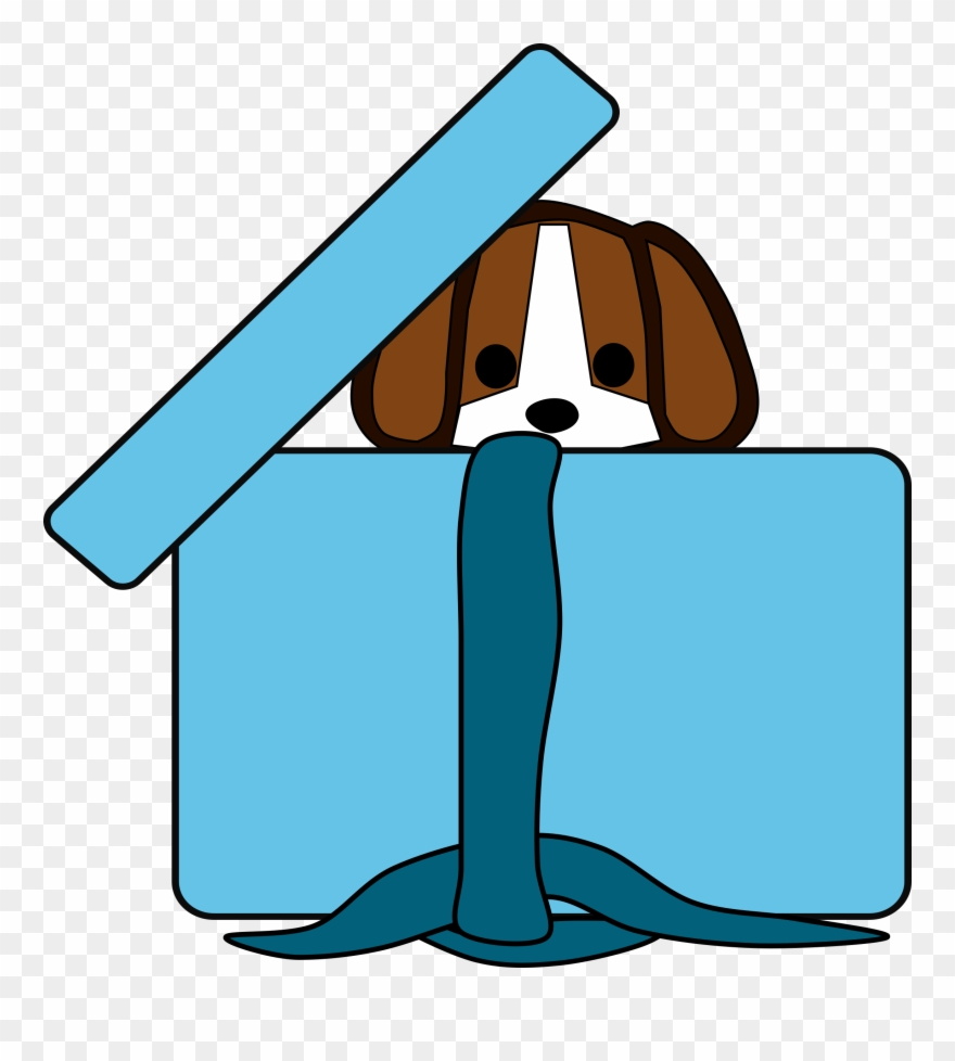 In the box clipart vector stock Download Puppy In A Box Clipart Beagle Puppy Clip Art - Dog In A Box ... vector stock