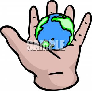 In the palm of your hand clipart picture free Holding The World In The Palm Of Your Hand - Royalty Free Clipart ... picture free