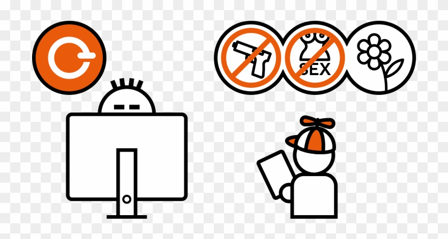 Inapropraite clipart clipart freeuse Eblocker Protects Against Inappropriate Content Clipart (#3118359 ... clipart freeuse