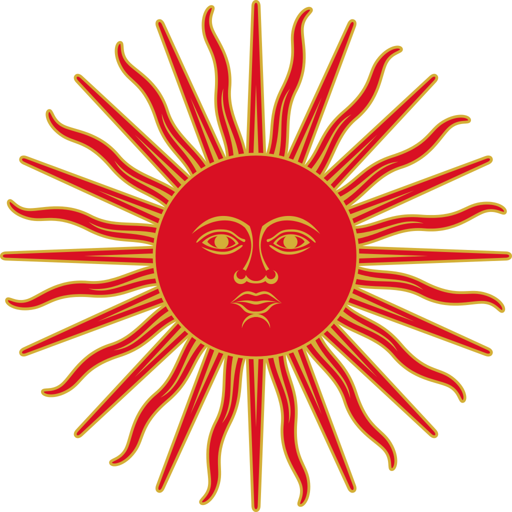 Inca sun clipart freeuse library File:Sun of May (Peru, 1822-1825).svg - Wikimedia Commons freeuse library