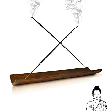 Incense burner clipart banner transparent library Incense Holder & Burner - Best No-Mess Ash Catcher Perfect for Home  Decorations - Premium Double Insence Stick Holes for Extra Aroma and Mixing  Scents ... banner transparent library