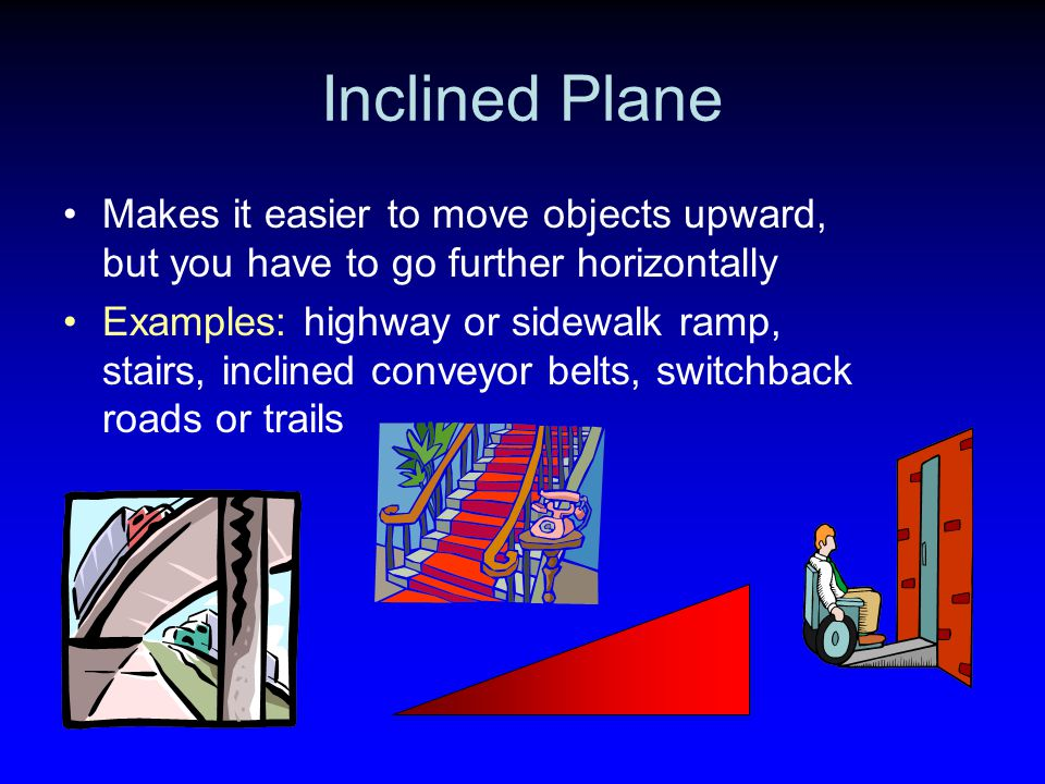 Inclined plane examples clipart vector library download Introduction to Simple Machines. - ppt download vector library download