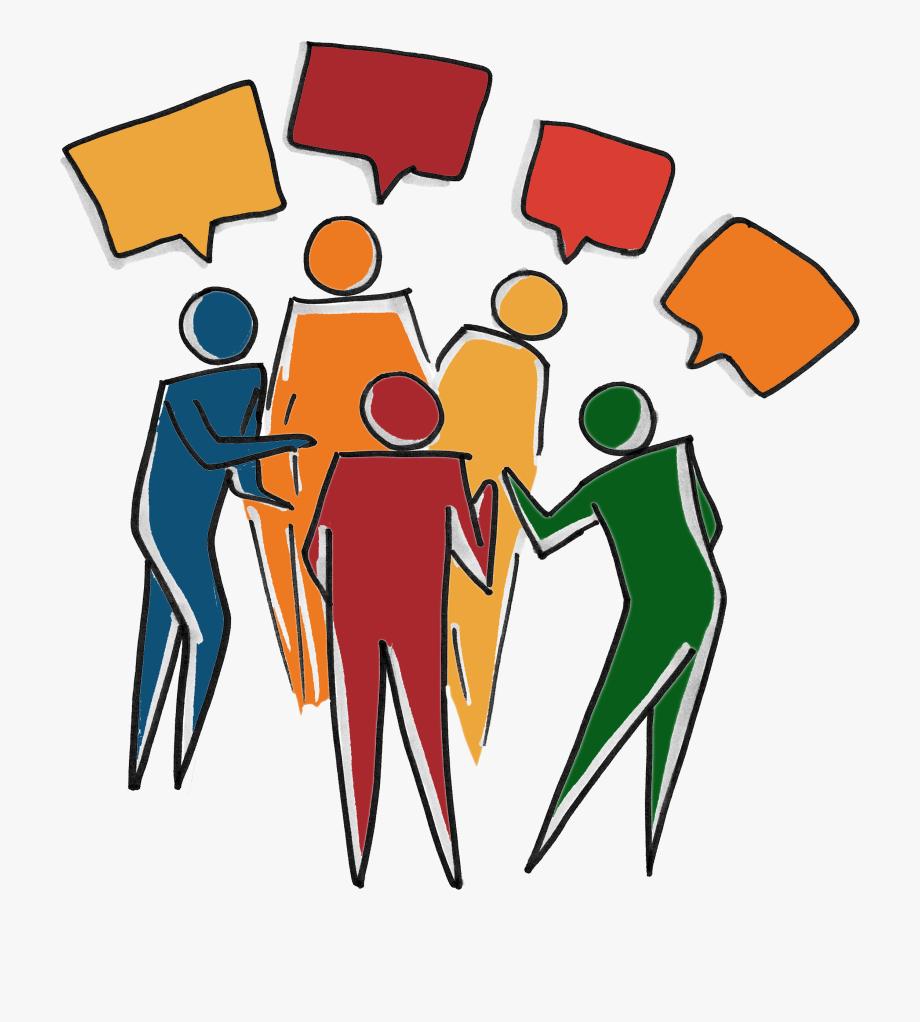 Inclusive clipart transparent download Inclusive Diverse Team - People Talking Clipart Transparent ... transparent download