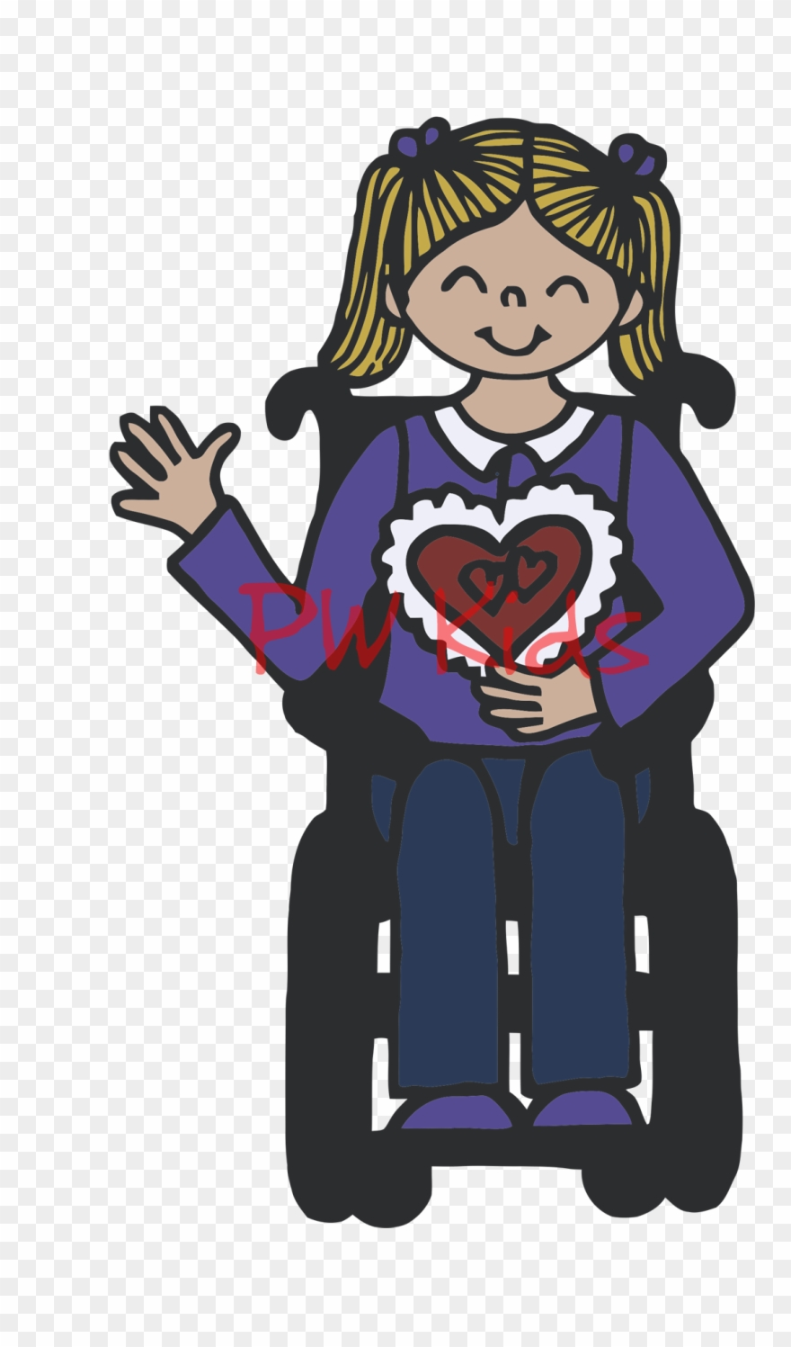 Inclusive clipart jpg download Inclusive Disability Clip Art - Cerebral Palsy - Png ... jpg download