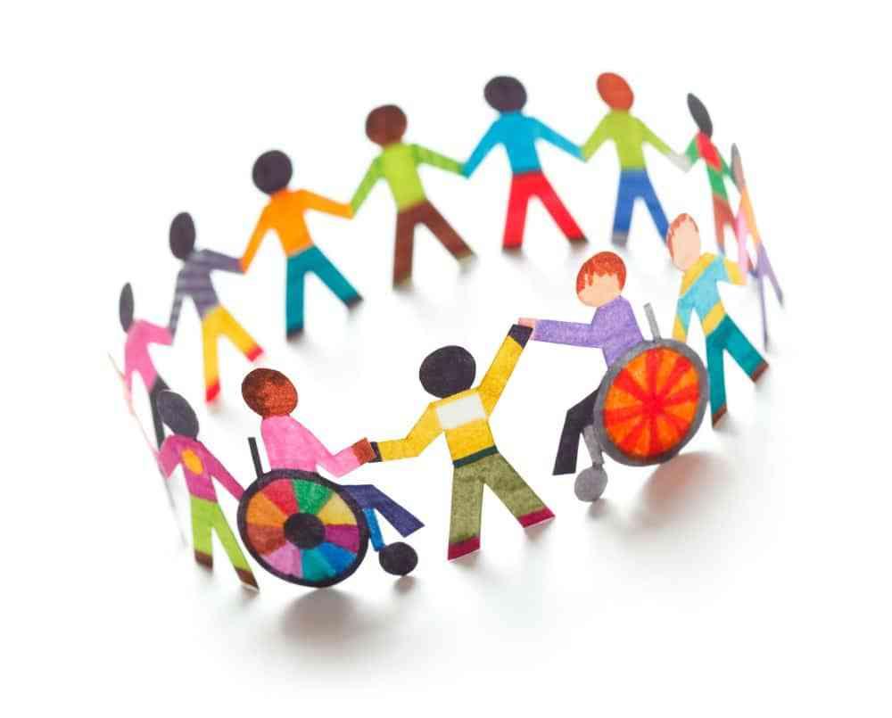 Inclusive clipart vector transparent Community clipart inclusive education pencil and in color ... vector transparent