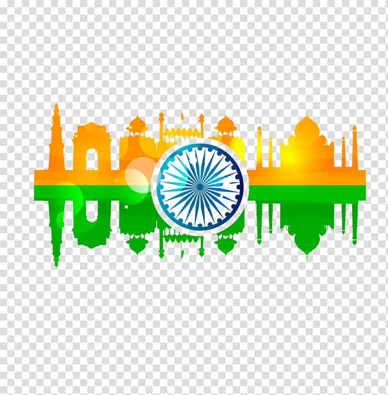Independence day background clipart clipart transparent White and blue logo, Indian independence movement Indian ... clipart transparent