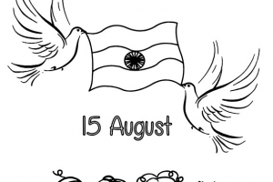 Independence day clipart black and white clip art royalty free download Independence day india clipart black and white » Clipart Portal clip art royalty free download