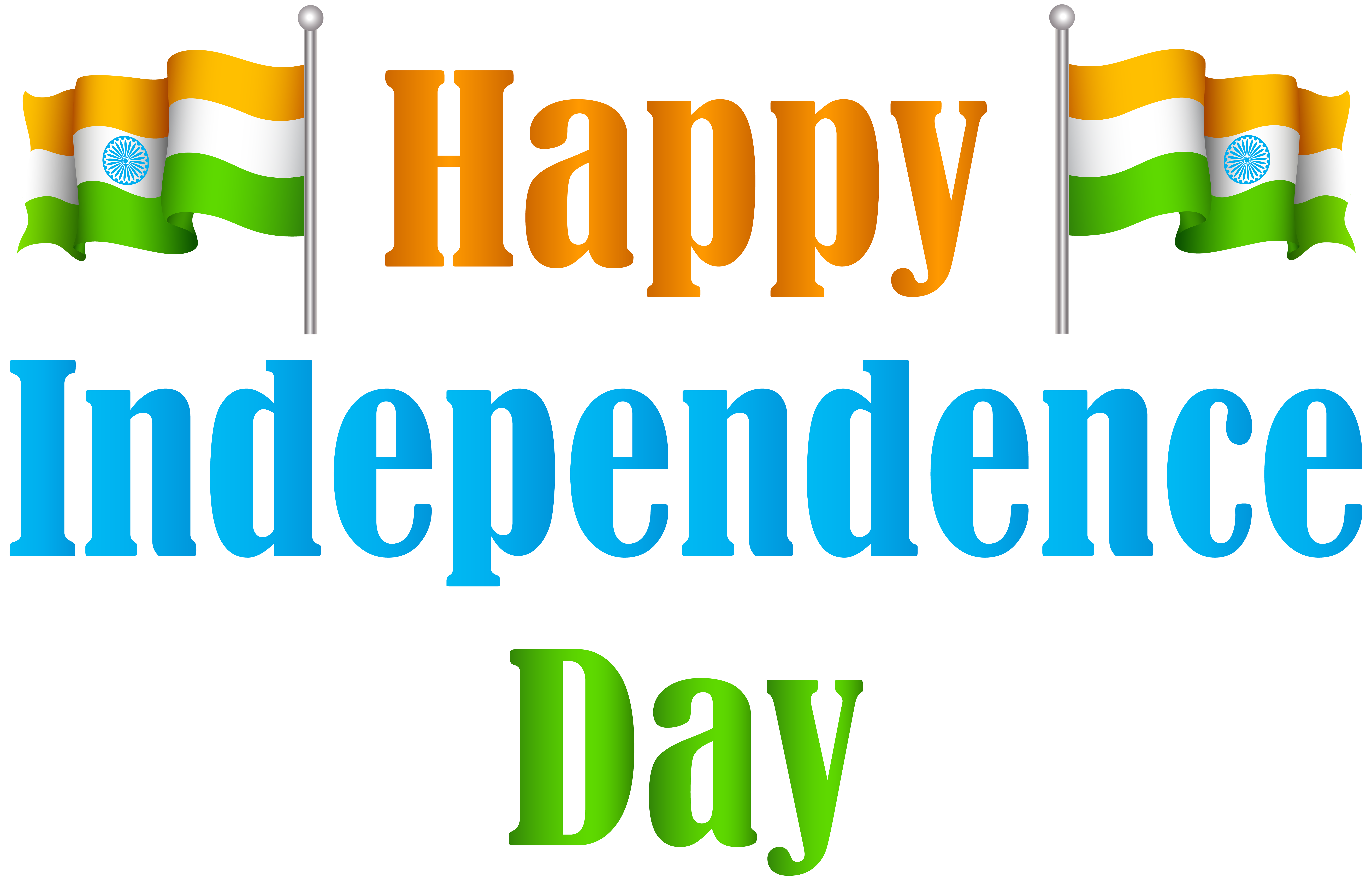 India Happy Independence Day Transparent PNG Clip Art Image ... free stock